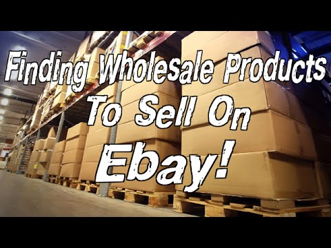 Find Wholesale Products To Sell On Ebay (EASY SOLUTION)
