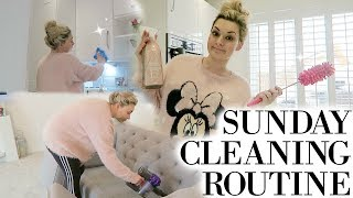 SUNDAY CLEANING ROUTINE 2018 | EXTREME CLEANING MOTIVATION | CLEAN WITH ME 2018 | SPEED CLEAN 2018