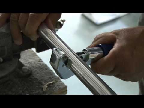 Tube Cutting Tool - Cut Metal Tubing - Video