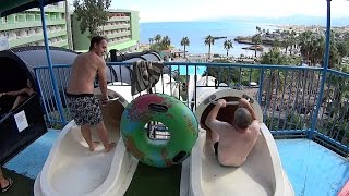 Fast Water Slide at Star Beach Water Park