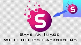 Photoshop Basics Tutorial How To Save An Image With Without Its Backg