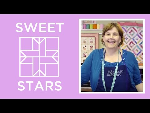 How to Make a Sweet Stars Quilt Block