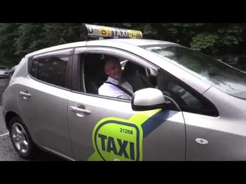 On the road with Electric Vehicles - Peter Hanley taxi driver