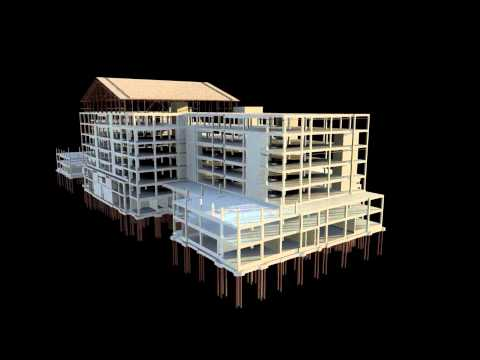 Duval County Courthouse Structural Revit Model