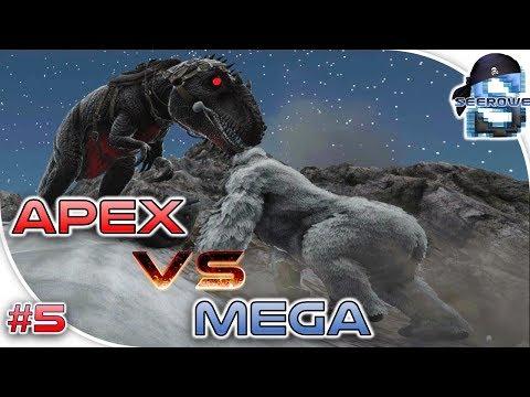 ARK PRIMAL FEAR #5 APEX GIGA vs MEGAPITHECUS + BONUS FIGHT 💪😀