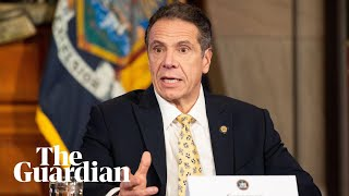 Coronavirus: governor Cuomo provides update on outbreak in New York - watch live