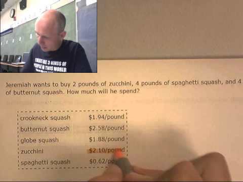 BARRE 7th L.5 Consumer Math Unit prices find the total price