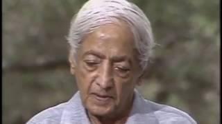 On homosexuality | J. Krishnamurti