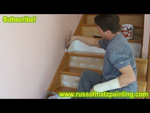 DIY Refinish & Paint Hardwood Stairs that were Carpeted, Stained, Varnished (Part 2) Zinsser