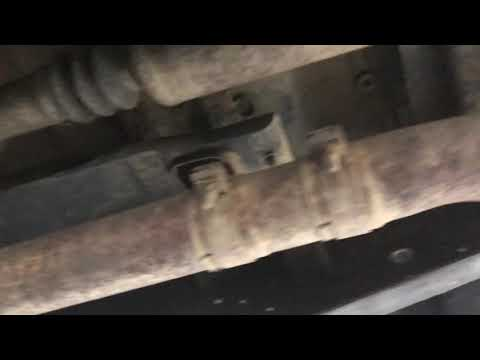 Bad u joint clunk sound on f250