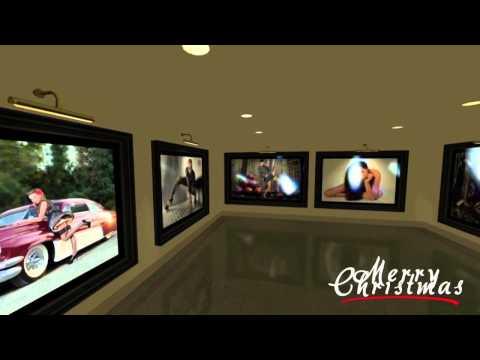 3-D Art Gallery Walk Through Todd Youngblood