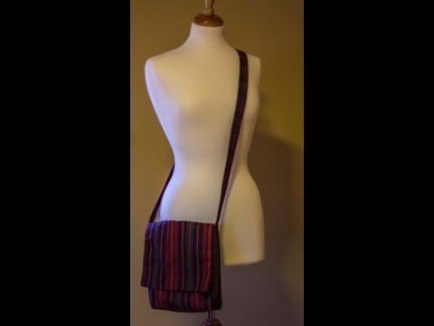Easy BoHo Bag Tutorial (Sewing For Beginners)