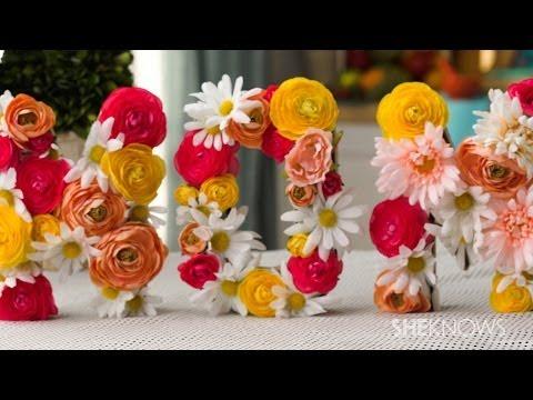 How to Make a Mom Floral Arrangement