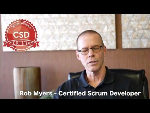 Rob Myers - Certified Scrum Developer