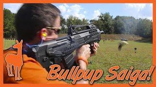 Saiga 12 bullpup Videos - 9tube tv