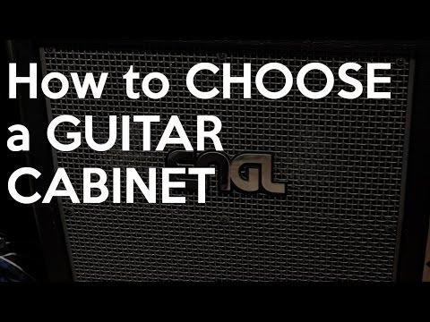 How to Choose a GUITAR CABINET | Spectresoundstudios TUTORIAL