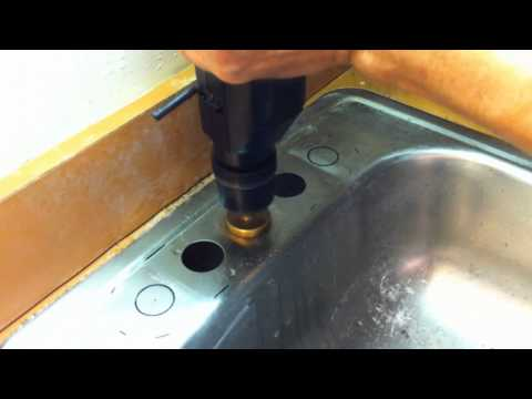 Drilling Large Holes in Stainless Steel the Easy Way