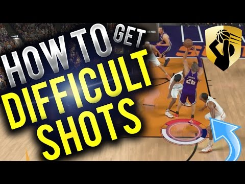 NBA 2K17 Tips: HOW TO GET DIFFICULT SHOTS BADGE!!! INSANELY OVERPOWERED BADGE IN NBA 2K17!!!