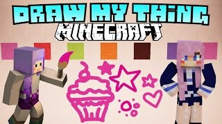 Minecraft Draw My Thing with Cupquake