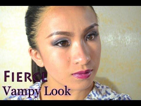 Fierce Vampy Night Makeup Look