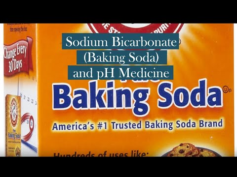 Sodium Bicarbonate (Baking Soda) and pH Medicine
