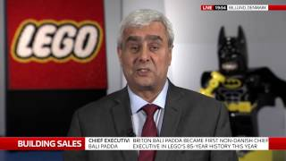 New British Lego boss speaks to Ian King Live