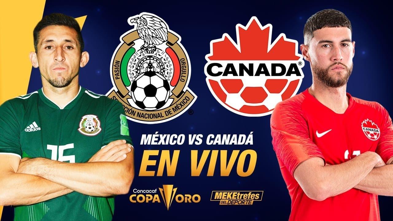 SEMIFINALES DE COPA ORO 🇲🇽 México vs 🇨🇦 Canadá | CONCACAF rumbo a QATAR