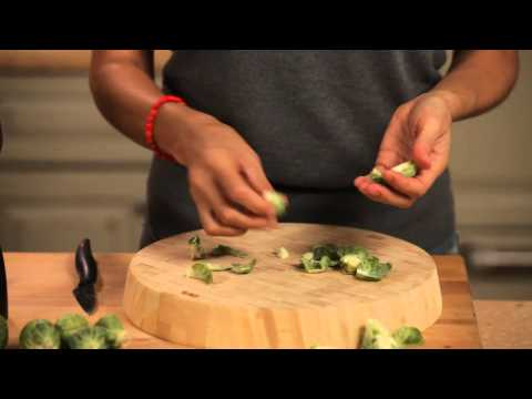 Quick Tip: How to Prep Brussels Sprouts