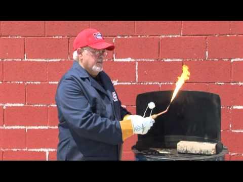 Lighting and shutting down an oxyacetylene torch