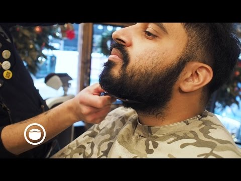 Short and Sharp Beard Trim | Cut and Grind