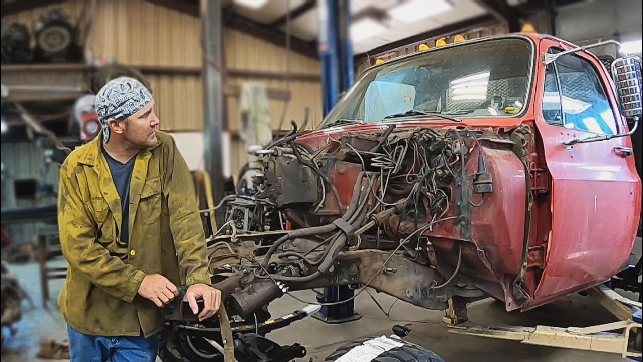 Converting an Old GMC TRUCK 2WD into a New 4WD