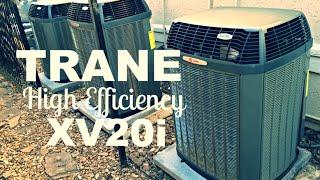 2010 Trane XR15 4-ton air-conditioner running Videos & Books