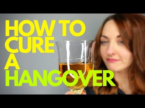How to Cure A Hangover - HANGOVER NAUSEA SOLUTION!