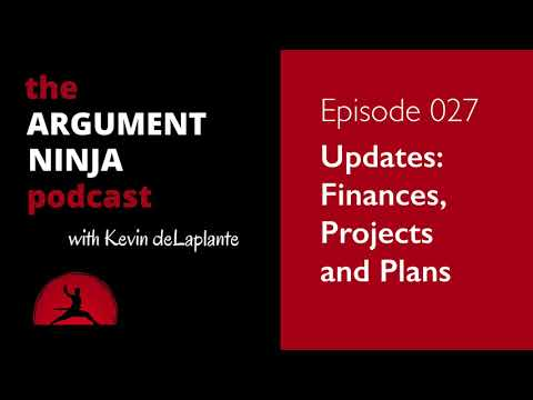 027 - Updates: Finances, Projects and Plans