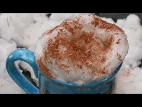 How-to Make Milk Foam For Hot Drinks Tutorial – SAVE MONEY!