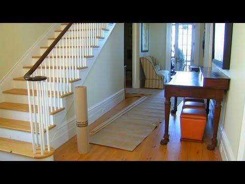 Tung Oil Finish on Pine Floors | P. Allen Smith Classics