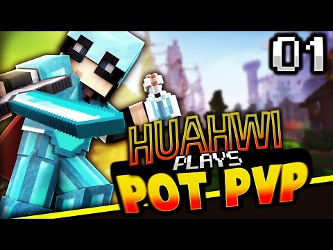 Huahwi Plays Minecraft Pot PvP - Bad (Day 1)