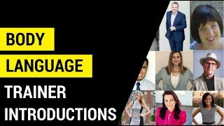 Body Language Trainer Introductions l 2017
