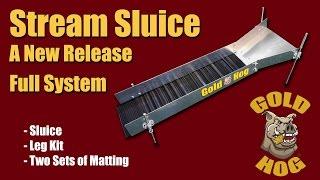 Stream Sluice - Gold Stream Sluice