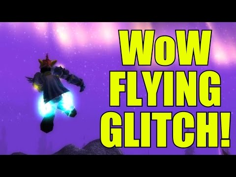 World of Warcraft Flying Glitch! (Flying Without Mount)