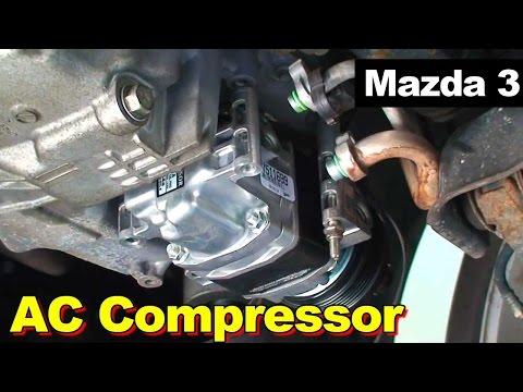 2004-2009 Mazda 3 AC Compressor Non-Turbo