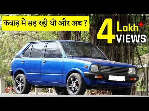 SCRAP to NEW!! Maruti 800 Restoration | Race Seats | Custom Exhaust | Old Car Restoration in india