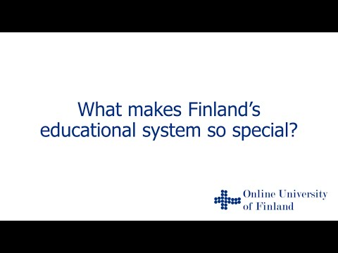 What makes Finland's education system so special?