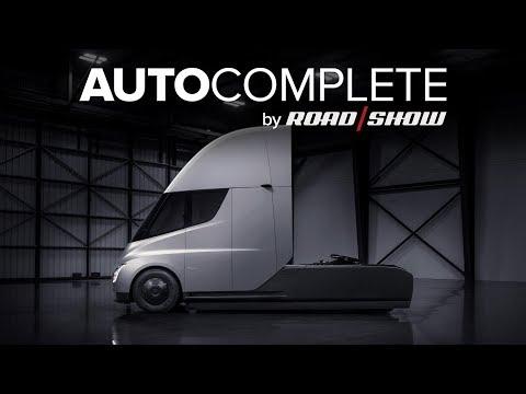 AutoComplete: PepsiCo orders 100 Tesla Semi trucks