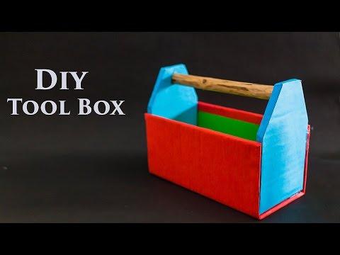 Diy Cardboard Tool Box