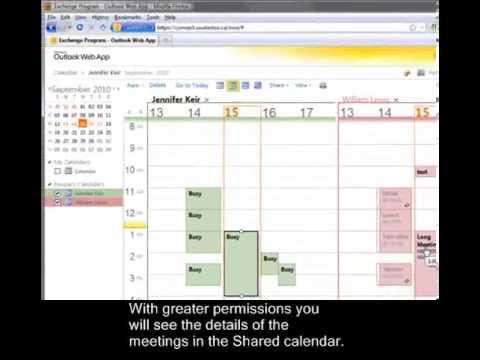 Outlook Web App (OWA) Training Video 5