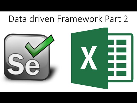 Data Driven Framework Excel Based Part 2  Selenium Webdriver