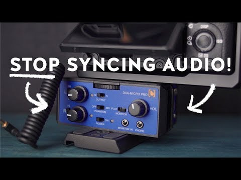 How To Record High Quality Audio Straight Into the Camera