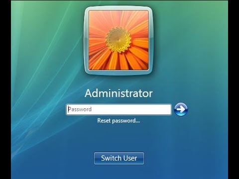 Windows Vista Forgot Admin Password – Reset It with USB