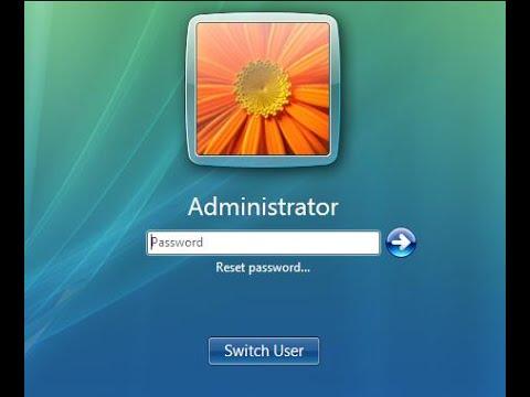 Windows Vista Forgot Admin Password – Reset It with USB